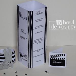 Décoration de table thème cinéma